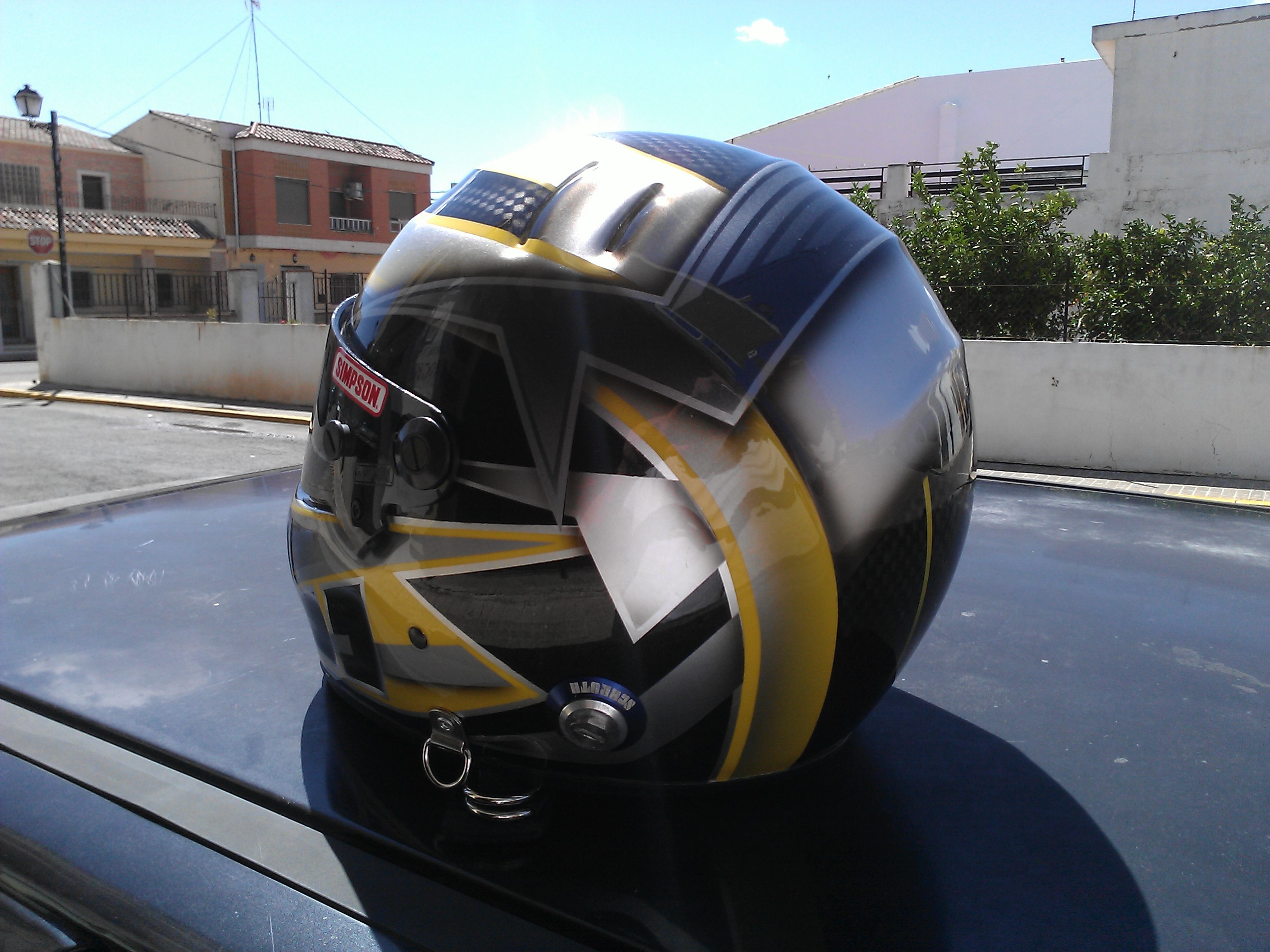 Pintura Casco Simpson