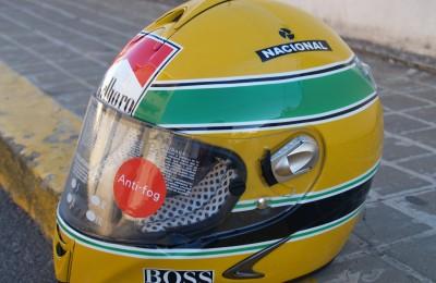 Pintura Casco Senna (Réplica)
