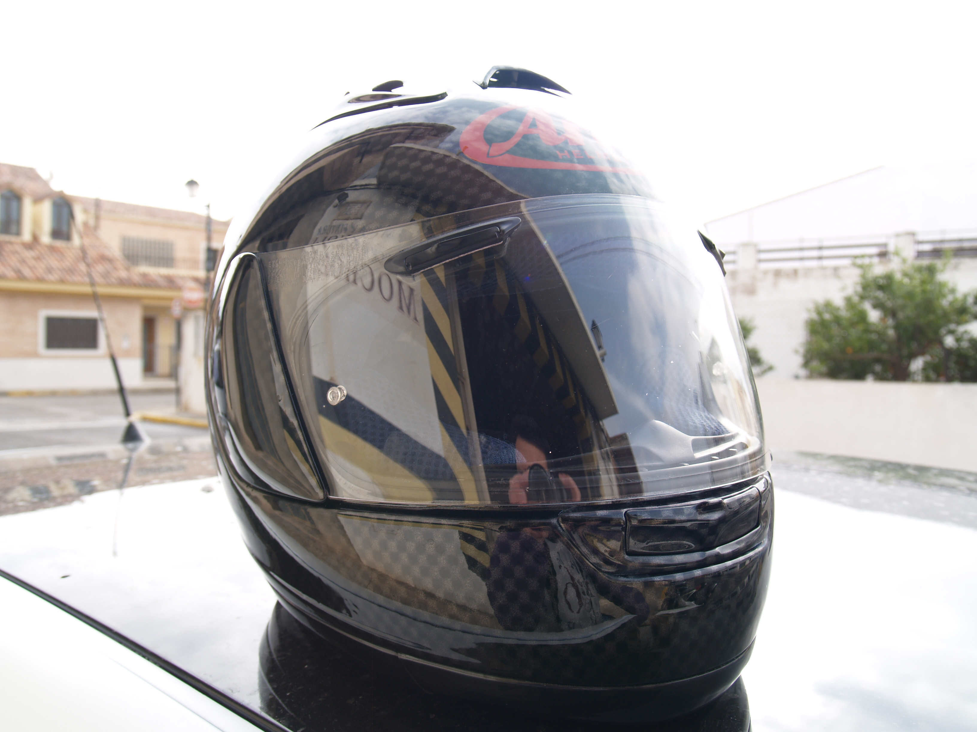 Pintura Casco Arai RX-7 Full Carbon