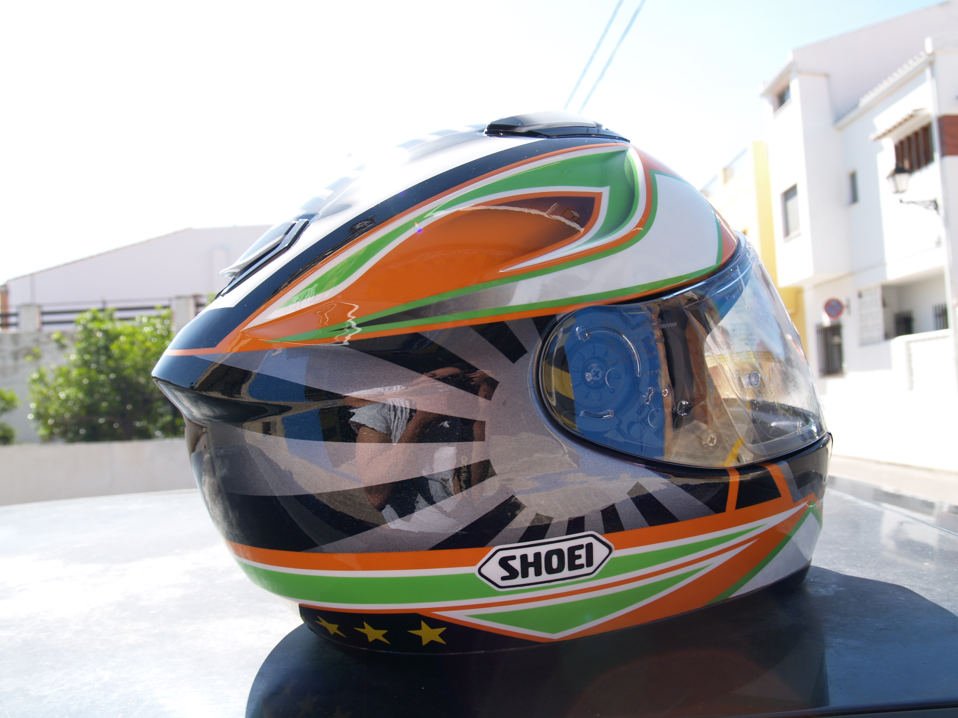 Pintura Casco Shoei GT-air Japan