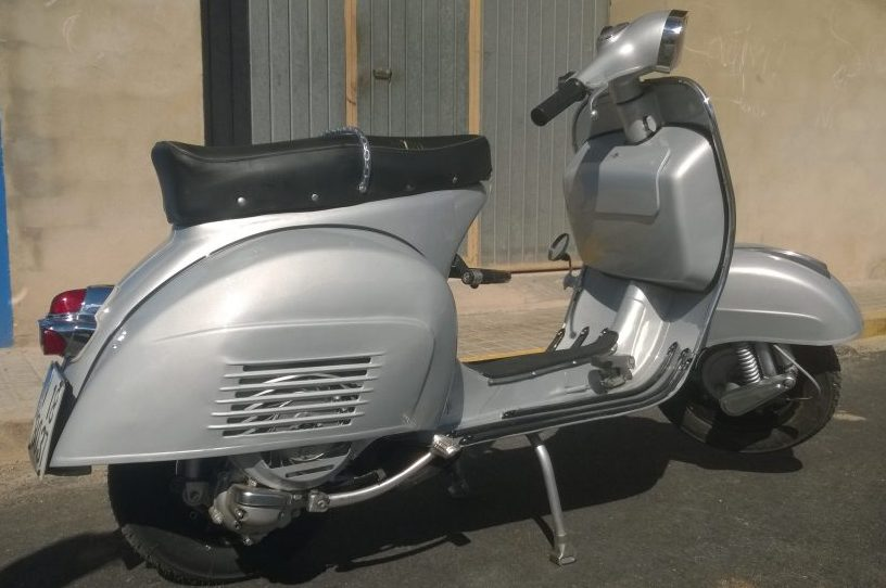 Restauración Vespa 150 sprint-mottomodding