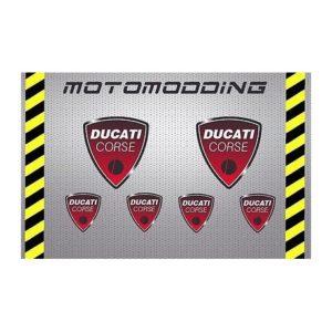 pegatinas-ducati-corse-300x300 Adhesivos Ducati,Pegatinas exclusivas de Ducati o para Ducati, Vinilos para llantas Ducati, Pegatinas Ducati Corse y una gran variedad de adhesivos para motos Ducati Monster 696, 796, 1100 y 1100Evo