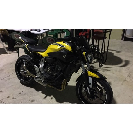 Pegatinas motocicleta Yamaha Mt 07 carenado guardabarros colín…
